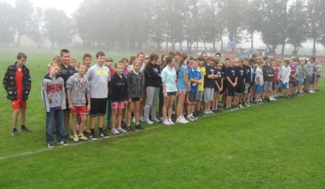 Gminne Igrzyska Młodzieży Szkolnej – Indywidualne Mistrzostwa LA (17.09.2012 r.)