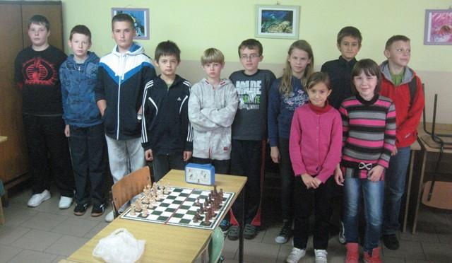 Gminne Igrzyska Młodzieży Szkolnej w szachach – turniej drużynowy (15.10.2012 r.)
