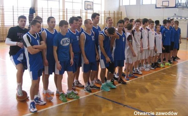 Gminna Gimnazjada w koszykówce chłopców (07.11.2013 r.)