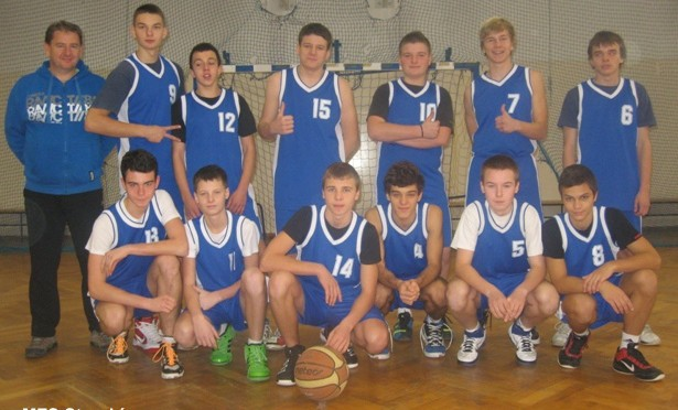 Gminna Gimnazjada w koszykówce chłopców (12.11.2012 r.)