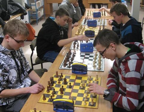 Gminna Gimnazjada w szachach – turniej indywidualny (12.03.2013 r.)