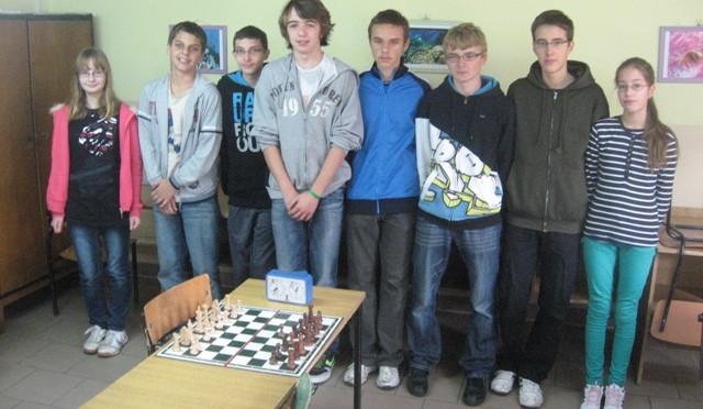 Gminna Gimnazjada w szachach – drużynowo (15.10.2012 r.)