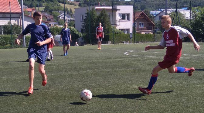 Gminne Igrzyska Młodzieży Szkolnej w piłce nożnej