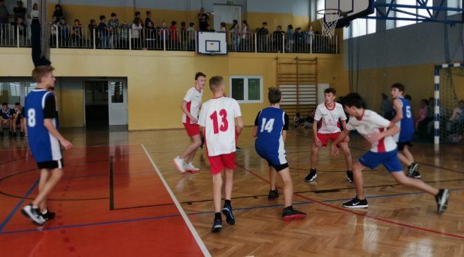 Gminne Igrzyska Młodzieży Szkolnej w koszykówce chłopców