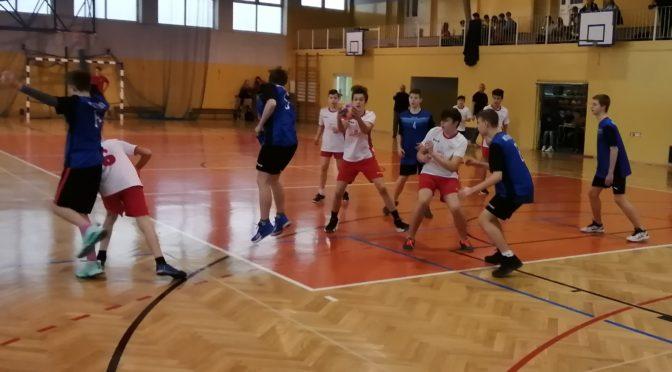 Gminne Igrzyska Młodzieży Szkolnej w piłce ręcznej chłopców
